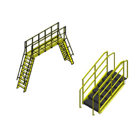 Mezzanines, Crossovers, Catwalks, Stairways, Ladders and Landings
