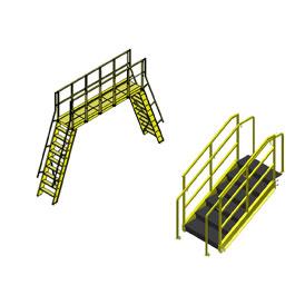 Mezzanines, Crossovers, Catwalks, Stairways, Ladders and Landings