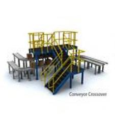 Conveyor Crossovers and Supports