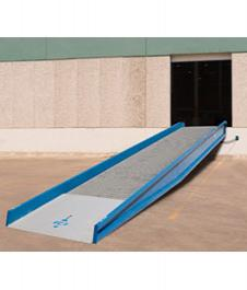 Ground-to-Dock Stationary Yard Ramps