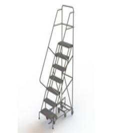 All-Directional Forward Descent Safety Angle Rolling Ladder
