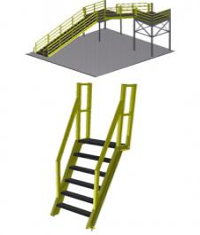 Stairways, Ladders and Landings
