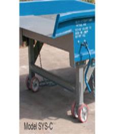 Steel Yard Ramp with Casters