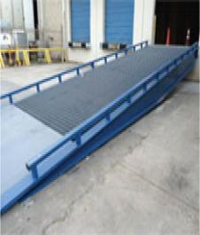 High Capacity Steel Yard Ramp